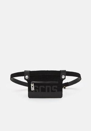 POUCH BELT UNISEX 2-IN-1 - Pasek - black