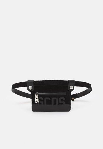 POUCH BELT UNISEX 2-IN-1 - Pásek - black