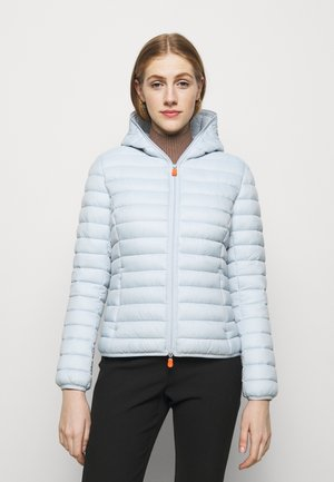 GIGA DAISY HOODED JACKET - Light jacket - crystal grey