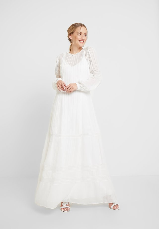 BRIDAL DRESS LONG - Robe de cocktail - snow white