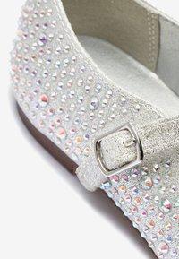 Next - Ballerina's met enkelbandjes - silver - 3