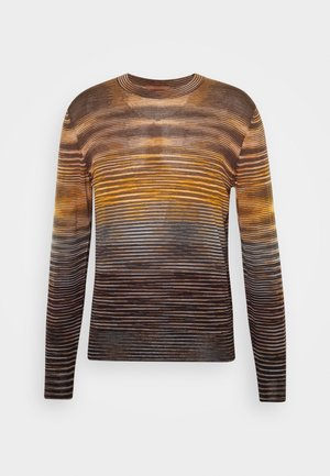LONG SLEEVE CREW NECK - Maglione - multi-coloured