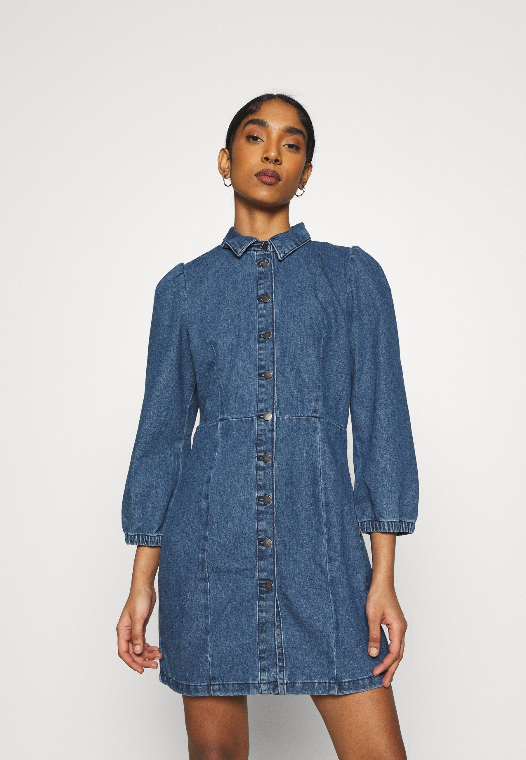 Women JDYATHENA DRESS - Denim dress