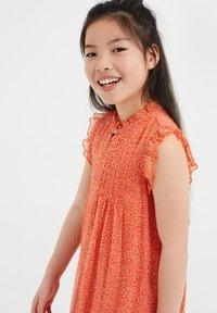 WE Fashion - Day dress - bright orange - 1