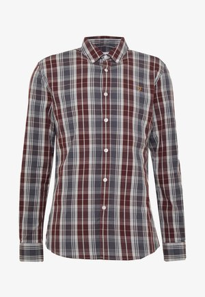 BREWER TARTAN - Shirt - grey