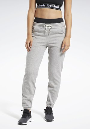 TRAINING ESSENTIALS FLEECE JOGGERS - Tracksuit bottoms - grey