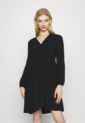 ONLNOVA LIFE THEA DRESS SOLID - Denní šaty - black
