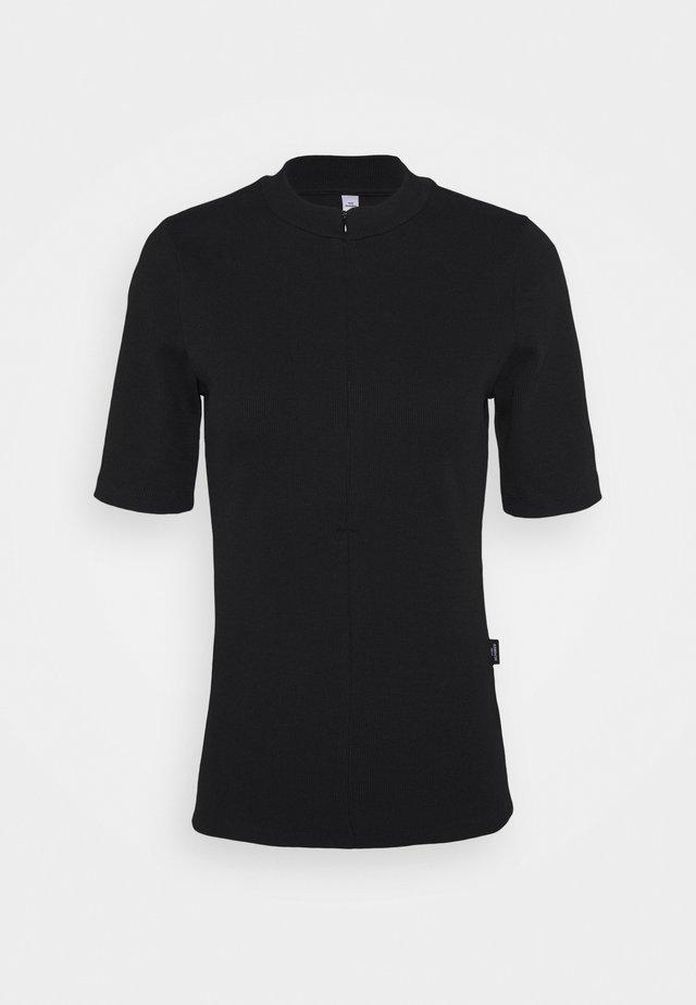 EDEN - Jednoduché triko - black