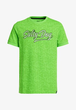 T-shirt con stampa - bright green