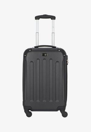 BERLIN 4-ROLLEN TROLLEY 58 CM - Wheeled suitcase - schwarz