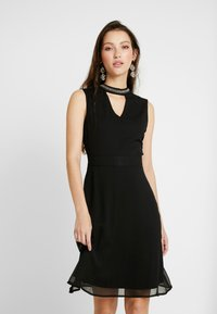 ONLY - ONLRAMON DRESS - Vestido de cóctel - black - 0