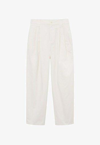 MINT - Pantalon classique - ecru