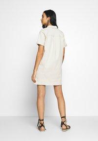 Vila - VIGLOVE DRESS - Denim dress - whisper white - 2