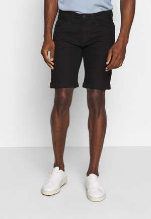 KADEN - Denim shorts - ultra black