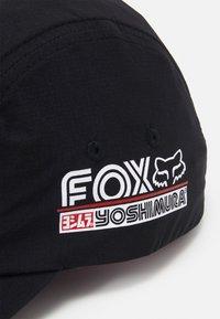 Fox Racing - YOSHIMURA FOX PANEL HAT  - Cap - black - 3