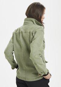 Denim Hunter - THE ARMY - Summer jacket - dusty olive - 2