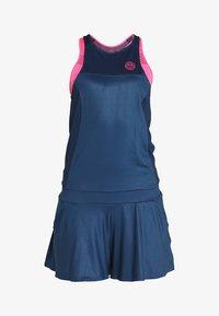 BIDI BADU - TECH JUMPSUIT 3 IN 1 - Verryttelypuku - dark blue/pink - 10