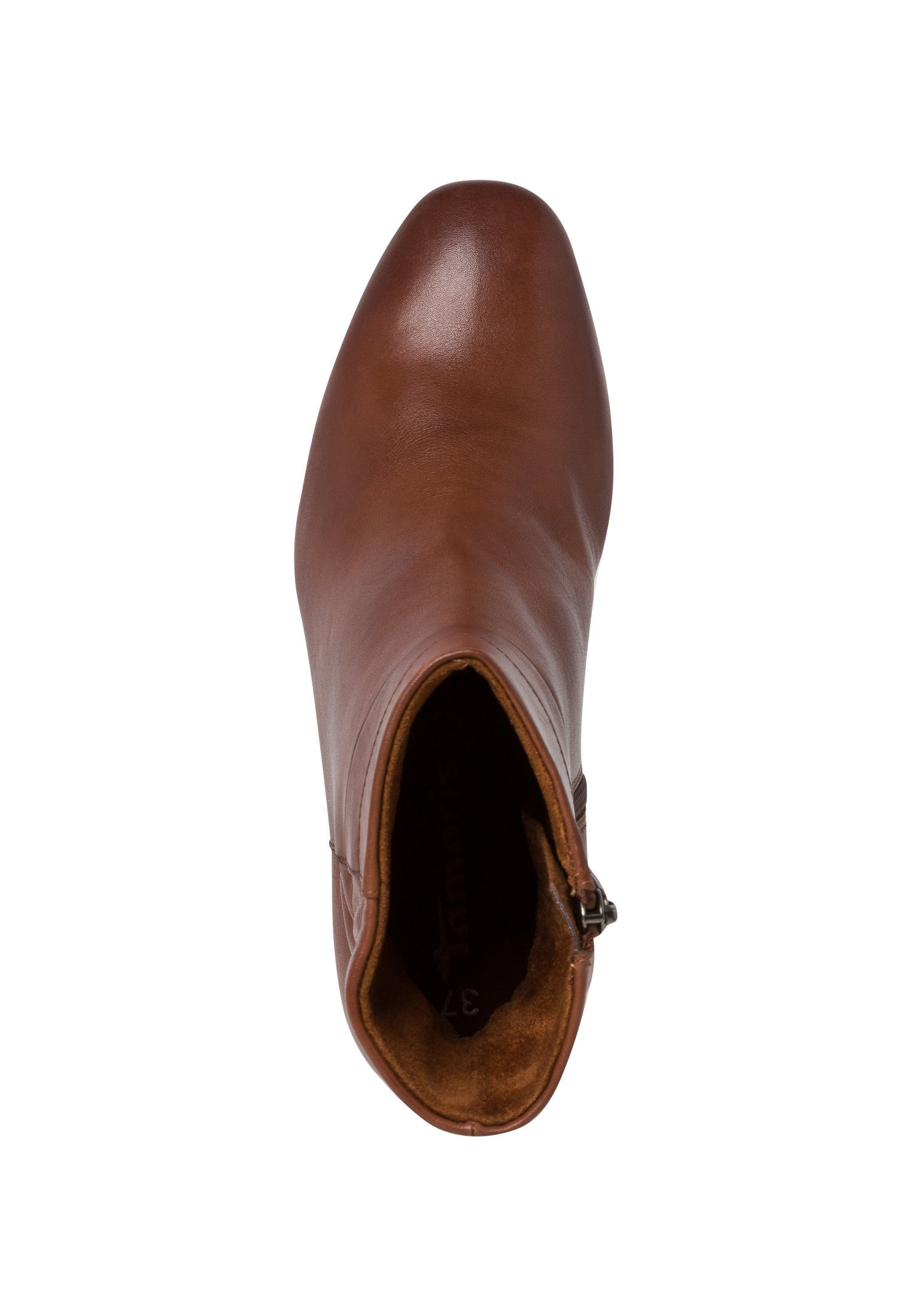Tamaris STIEFELETTE Ankle Boot brandy/braun