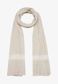 s.Oliver - Scarf - beige stripes - 3