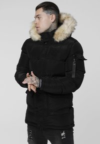 SIKSILK - PUFF - Vinterkappa /-rock - black - 0
