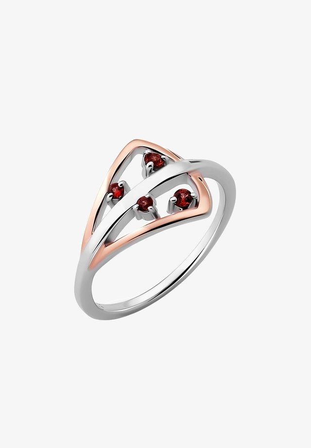 KARLEE - Ring - white/rose