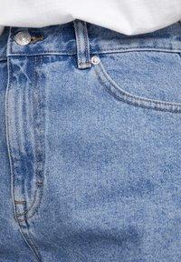 PULL&BEAR - Džínové kraťasy - mottled dark blue - 5