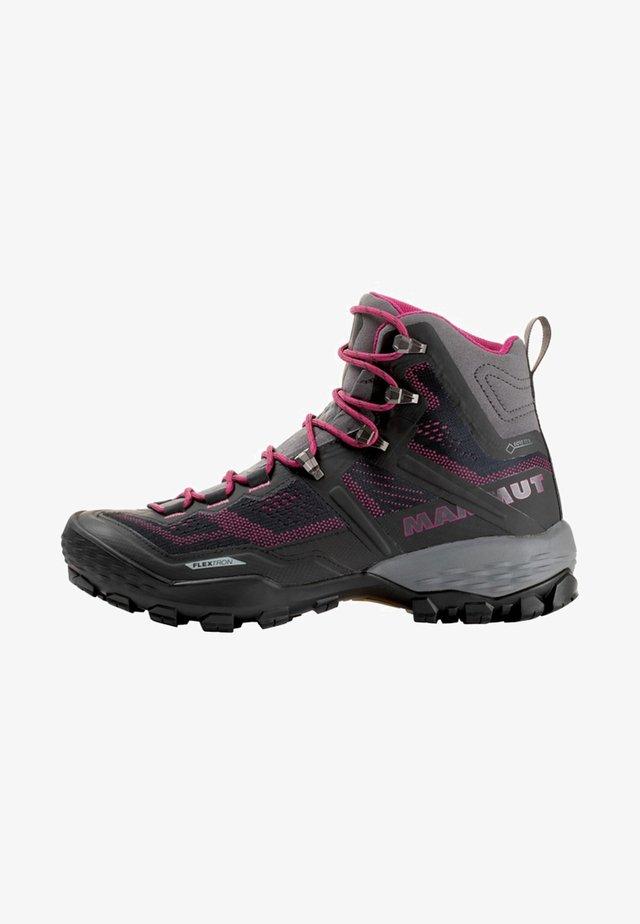 DUCAN HIGH GTX WOMEN - Hiking shoes - gray