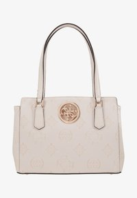 Guess - OPEN ROAD LUXURY SATCHEL - Handbag - nude