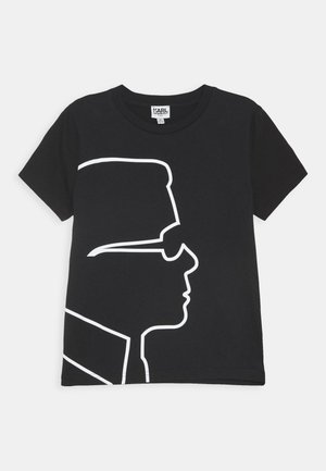 SHORT SLEEVES TEE UNISEX - Printtipaita - black