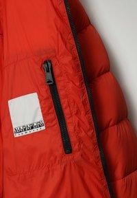 Napapijri - CIRCULAR PUFFER - Winter jacket - orange clay - 4