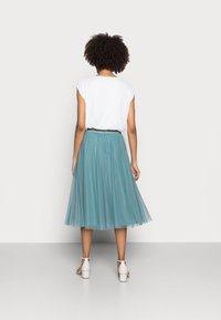 Esprit Collection - SKIRT - Spódnica trapezowa - dark turquoise - 2