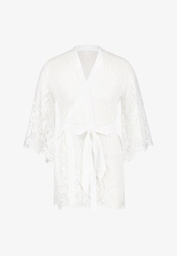 ISABELLE - Dressing gown - white