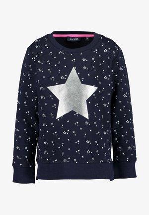 COSMIC LOVE - Sweatshirt - nachtblau aop