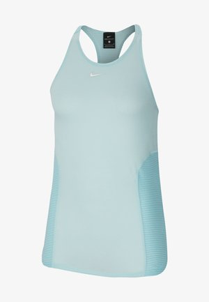 AEROADAPT TANK - Sports shirt - teal tint/metallic silver