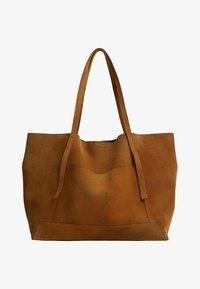 VEGA - Tote bag - marrón medio