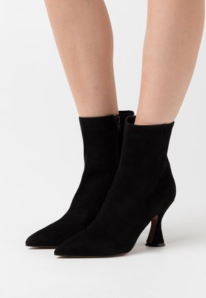 ZIP BOOT - Bottines à talons hauts - black
