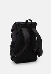 adidas Originals - TOPLOADER UNISEX - Rucksack - black/white - 1