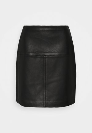 VALIAT - A-line skirt - black