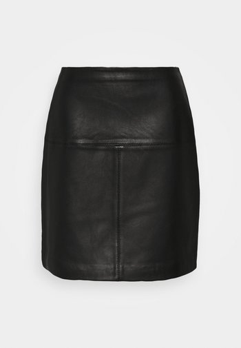 VALIAT - A-line skirt - black