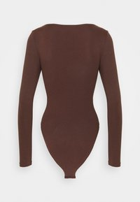 New Look - Long sleeved top - dark brown - 1