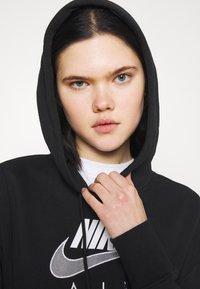 Nike Sportswear - AIR  - Hoodie - black/white - 4