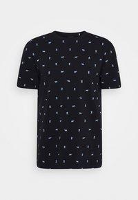 Scotch & Soda - Print T-shirt - dark blue - 4