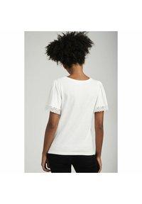 NAF NAF - T-shirt basique - ecru - 2
