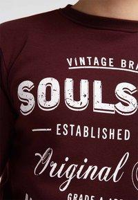 SOULSTAR - Sweatshirt - burgundy - 3
