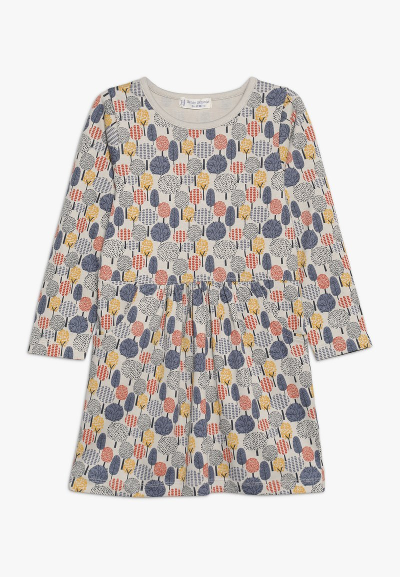 Sense Organics - SARAH DRESS - Jerseyklänning - off white/multicolor