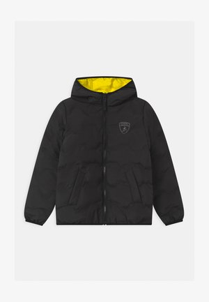 QUILTED HEXAGONS - Winter jacket - black pegaso