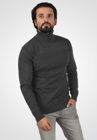 INDICODE JEANS - Jumper - charcoal mix - 0