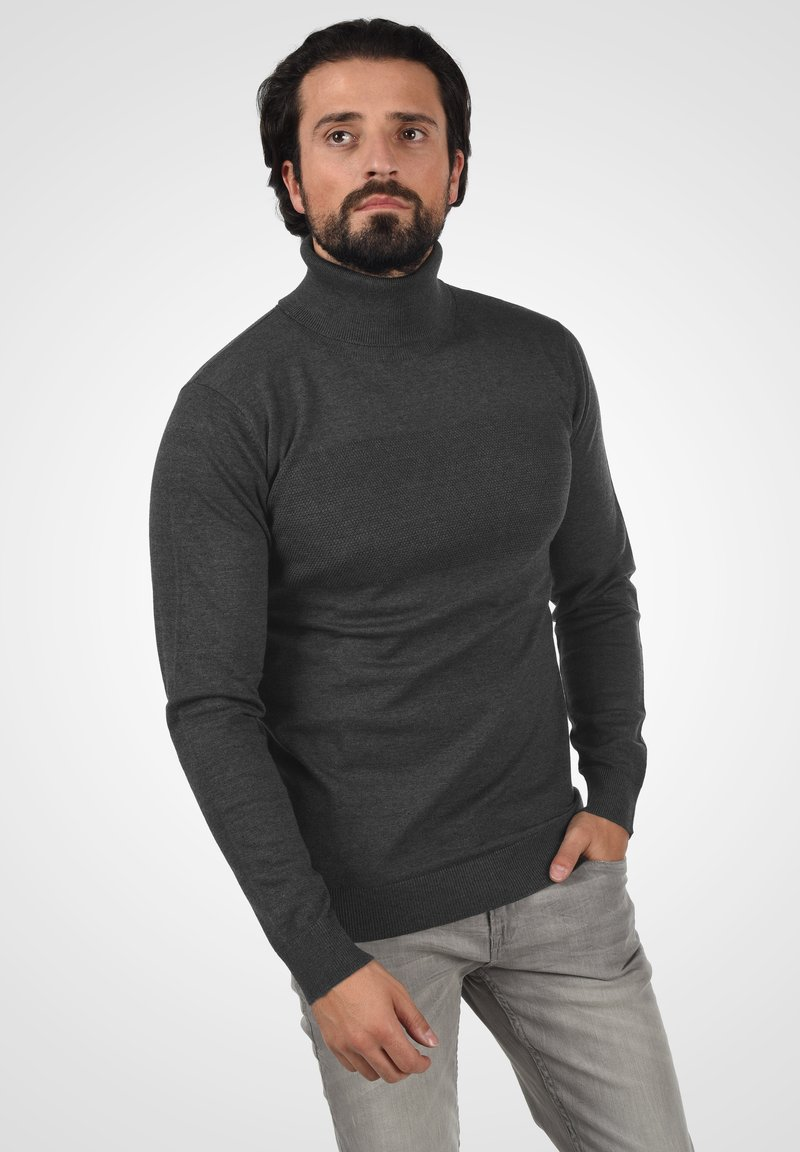 INDICODE JEANS - Jumper - charcoal mix
