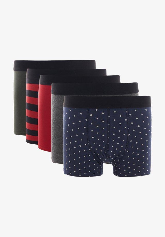 5 PACK - Boxershort - red