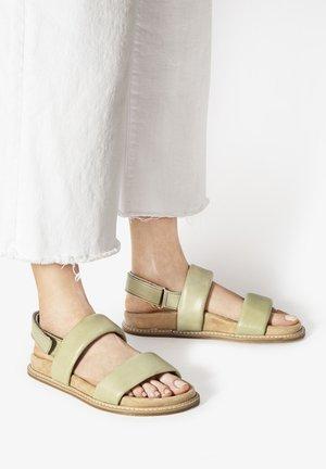 Sandals - olive olv